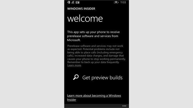 Get Windows Insider - Microsoft Store
