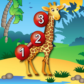 Get Kids Animal Connect The Dots Puzzles