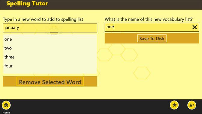 Get Spelling Tutor - Microsoft Store