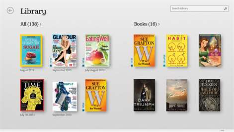 NOOK – Books, Magazines, Newspapers, Comics Screenshots 2