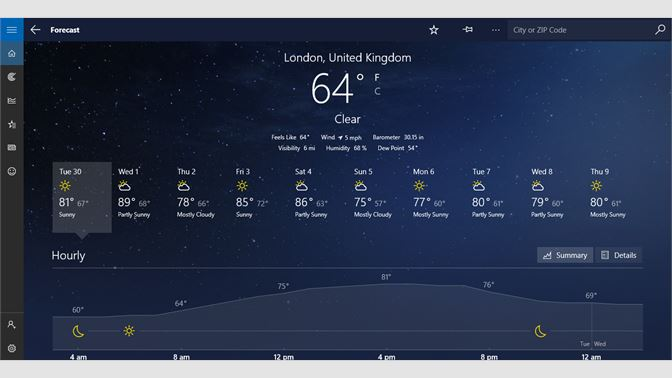 Get MSN Weather - Microsoft Store