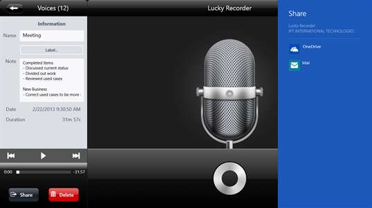 Lucky Recorder screenshot 7