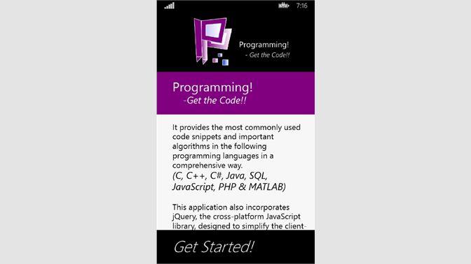 Get Programming! - Microsoft Store