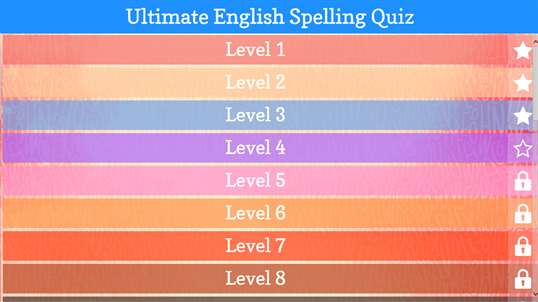 Ultimate English Spelling Quiz screenshot 4