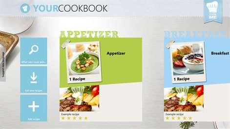 CookMe - Your Cookbook Screenshots 1