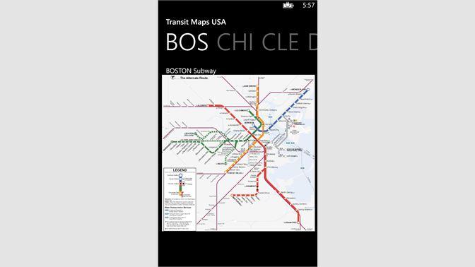 Boston Subway Map App.Get Transit Maps Usa Microsoft Store