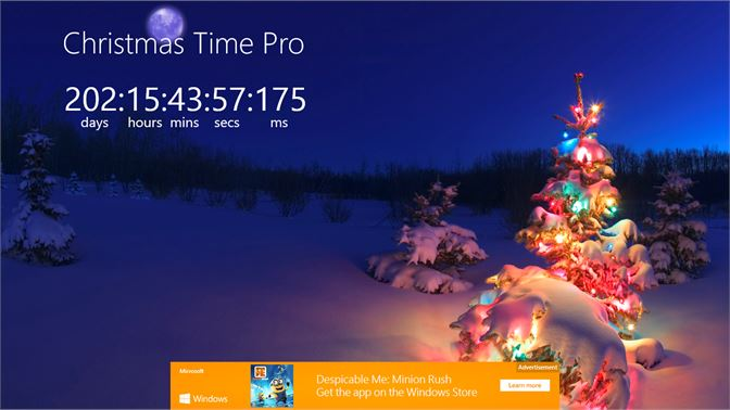 How Many Hours Until Christmas.Get Christmas Time Pro Microsoft Store En Hk