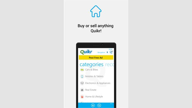Get Quikr - Buy & Sell - Microsoft Store