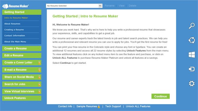 Get Resume Maker Free - Microsoft Store