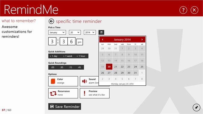 Get Remindme For Windows Microsoft Store