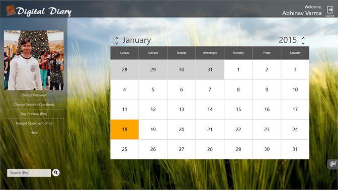 Get Digital Diary Microsoft Store