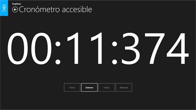4f22bdf64c00 ... de archivos CSV  Cronómetro accesible  modo sin barreras ...