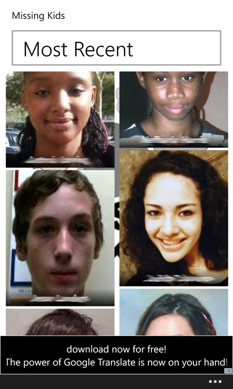 recent missing kids - HD 768×1280